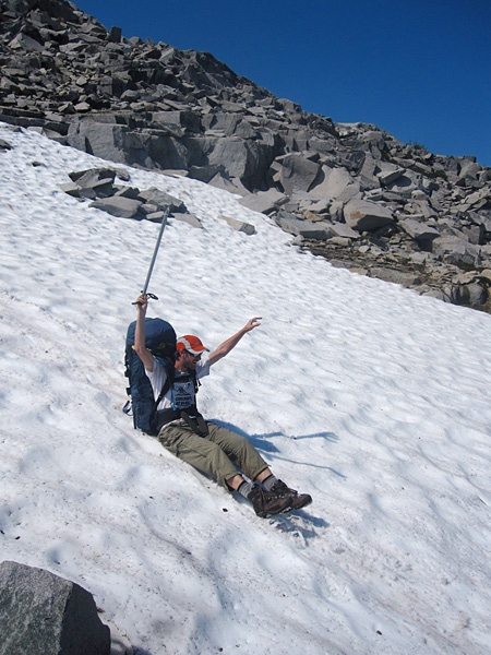 Glissading in the Cascades
