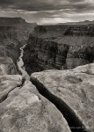 Grand Canyon North Rim, Grand Canyon National Park, Arizona, The Rift, crack
