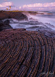 Pahoehoe Lava, Volcanoes National Park Coast, Hawaii