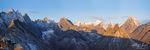 Arrigetch Peaks Panorama, Gates of the Arctic National Park, Alaska