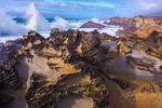 Tafoni, California Coast, Pacific Ocean