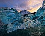 Crystalline Iceberg, Patagonia, Lago Grey