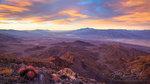 View of Death Valley, Barrel Cactus, California