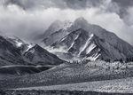 Mt Morrison, Sierra Nevada, Winter
