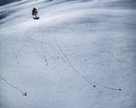 Yosemite, Snow, Abstract