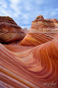 The Wave, Coyote Buttes, Arizona, frozen waves, sandstone