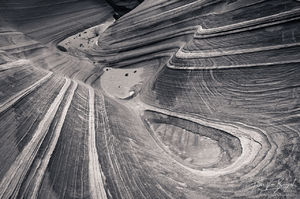 Water Worn Sandstone, Vermilion Cliffs, Arizona, triple-finity, southwest