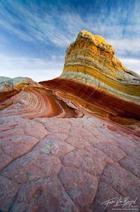 Sandstone King, White Pocket, Arizona, southwest, otherworldly