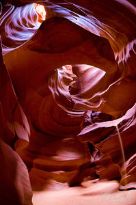 Earthly Organs Fisheye View, Antelope Canyon, Arizona, page