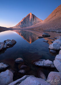 Royce Lakes in John Muir Wilderness, Sierra Nevada, California, sierra diamond, merriam peak