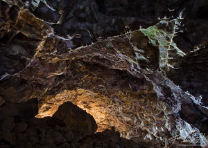 Lava Tube Cave, Lava Beds National Monument, California, purgatory