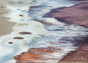 Dante's View Abstract, Death Valley National Park, California, dante's ocean, salt, lake manly, badwater