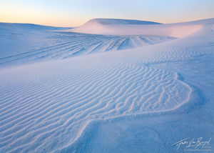 Gypsum Dunes, White Sands National Monument, New Mexico, sea of gypsum