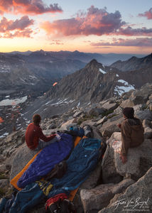 Mount Agassiz Summit Camp, Sierra Nevada, California, camp agassiz, bivy, john muir wilderness