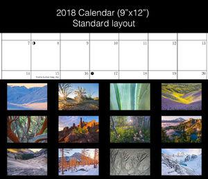 2018 Calendar (9