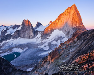 Bugaboo Spires, British Columbia, Sunrise