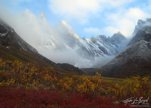 Snow Capped Arrigetch Peaks, Brooks Range, Alaska