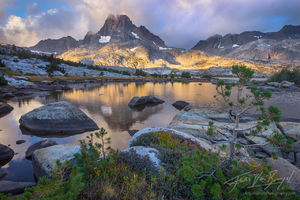 Banner Peak, Thousand Island Lake, Sierra Nevada