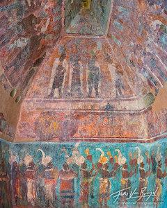 Bonampak Murals, Maya Ruins, Chiapas