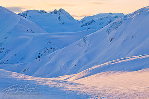 British Columbia Winter Mountains, Garibaldi Provincial Park, Canada