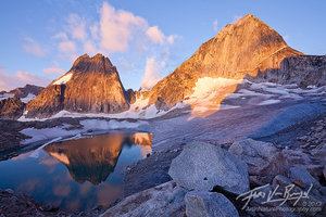 Bugaboo Provincial Park, Snowpatch and Bugaboo Spires, British Columbia