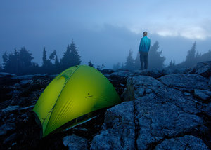 North Cascades National Park, Tent Camping, Clouds