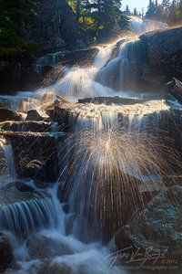 Cascades Waterfall, Alpine Lakes Wilderness, Washington