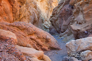 Beautiful Slot Canyon, Death Valley National Park, California