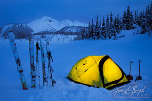Garibaldi Lake Winter Camping, British Columbia, Canada