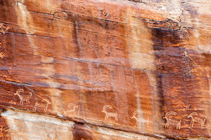 petroglyphs, gold butte nm, nevada, deserts, man in nature