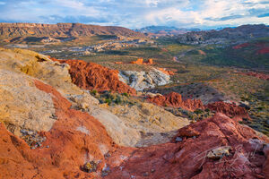 gold butte, nevada, landscapes, grand landscapes, deserts, open spaces, warm