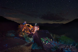 Mine, Fluorescent Rocks, Inyo Mountains
