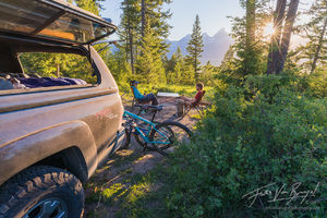 Shadow Mountain, Camping, Jackson Wyoming