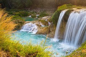 Golondrinas Waterfall, Las Nubes, Chiapas