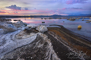 Salt Flats, Mono Lake, California