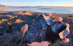 mono lake, minerals, science