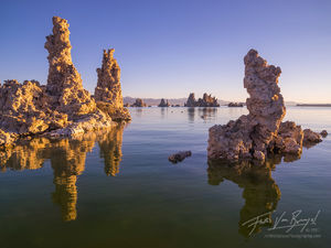mono lake, tufa, reflection
