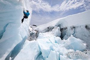 Crevasse Rescue, Easton Glacier, Mt Baker