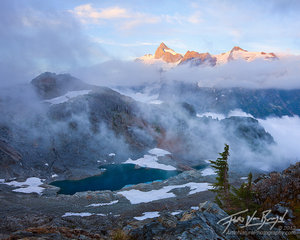 Mt Shuksan, North Cascades, Swirling Mists