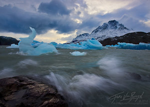 Patagonia Wind Storm, Icebergs, Torres del Paine