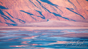Salt Flats Reflections, Death Valley National Park, California
