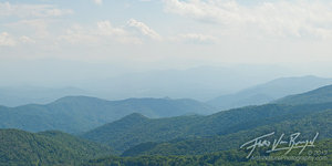 Smoky Mountains Vista, Pisgah National Forest, North Carolina
