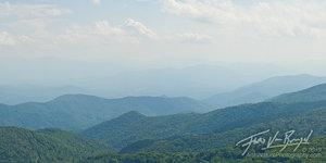 Smoky Mountains Vista, Pisgah National Forest, North Carolina