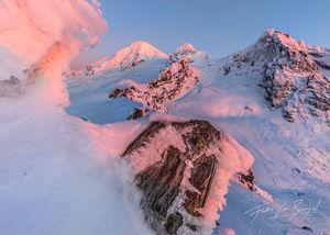 Cascades, Winter, Snowy
