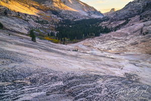 Granite, Glacial Polish, Half Dome