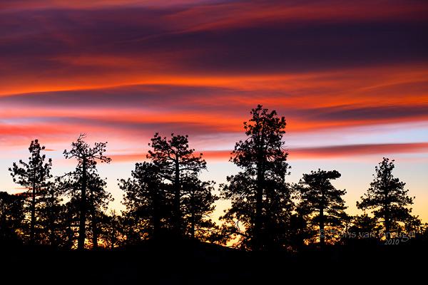 Sierra Wave, Owens Valley, California, sunrise, photo