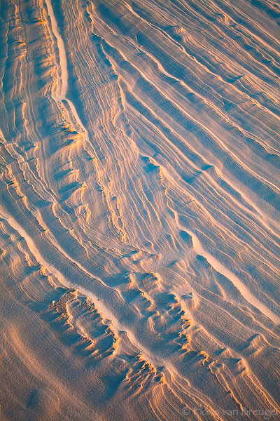 Sand Abstract, White Sands National Monument, New Mexico, birth of sandstone, petrified dunes, photo