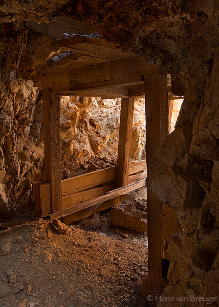 Mine Shaft, Darwin Mines, California, mine, photo