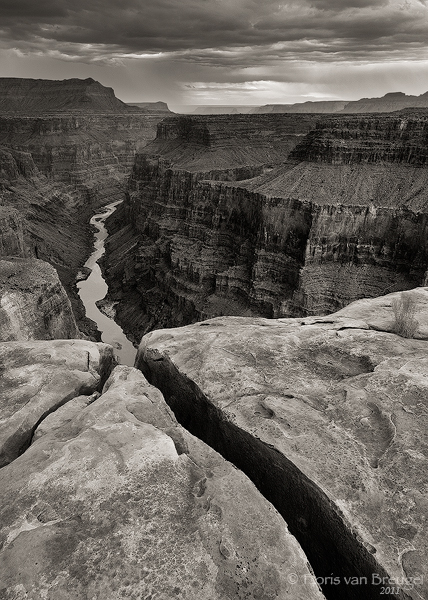 Grand Canyon North Rim, Grand Canyon National Park, Arizona, The Rift, crack, photo