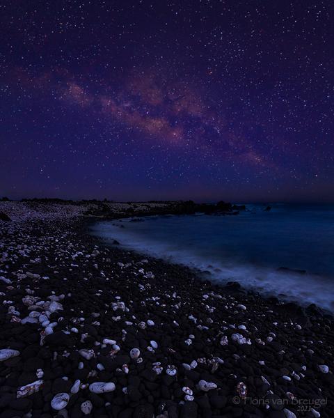 Milky Way on Maui